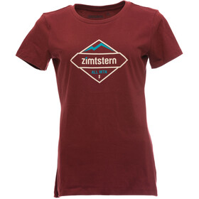 Zimtstern TSW Sanizza T-Shirt Dames rood